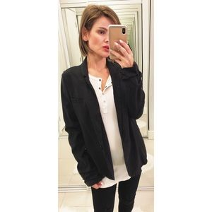 Topshop Black Blazer Jacket